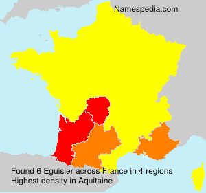 Surname Eguisier in France