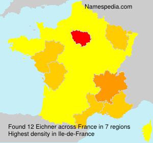 Surname Eichner in France