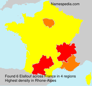 Surname Elallouf in France
