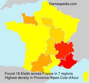 Surname Elarbi in France