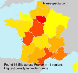 Surname Elis in France