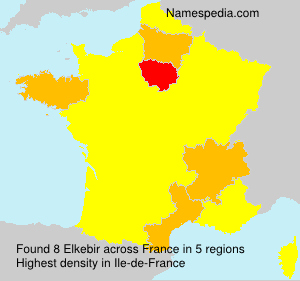 Surname Elkebir in France