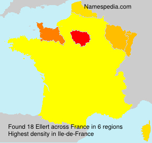 Surname Ellert in France