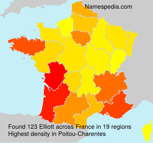 Surname Elliott in France