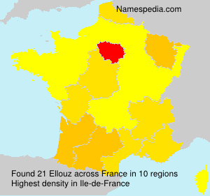 Surname Ellouz in France