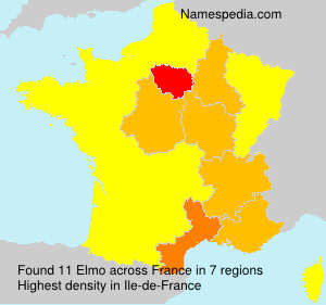 Surname Elmo in France