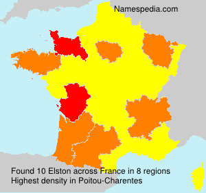 Familiennamen Elston - France
