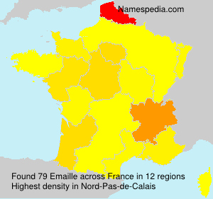 Surname Emaille in France