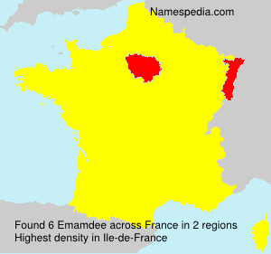 Surname Emamdee in France