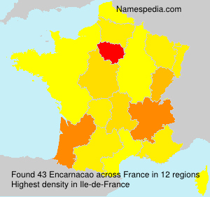 Surname Encarnacao in France