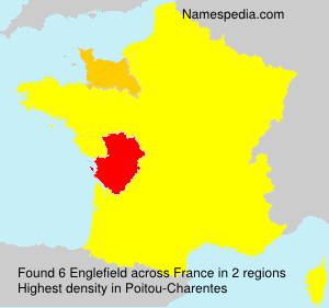 Surname Englefield in France