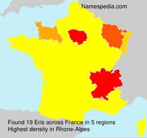 Surname Eris in France