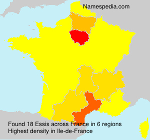 Surname Essis in France