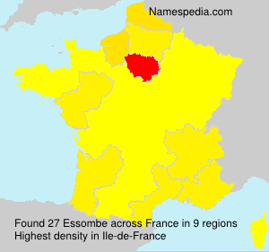 Surname Essombe in France
