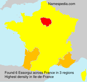 Surname Essorgui in France