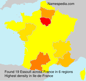 Surname Essoufi in France