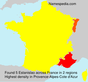 Surname Estanislao in France