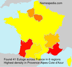 Surname Euloge in France