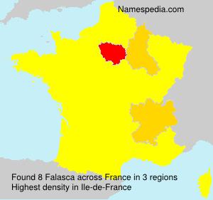 Surname Falasca in France