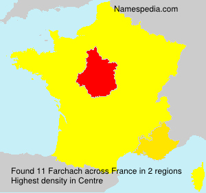 Surname Farchach in France
