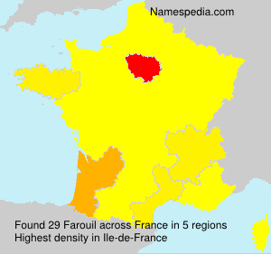 Surname Farouil in France
