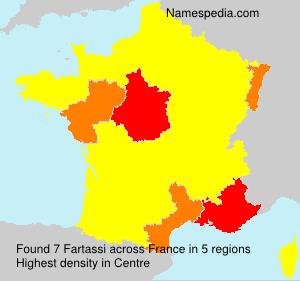 Surname Fartassi in France