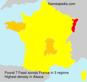 Surname Fassl in France