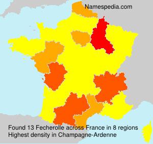 Surname Fecherolle in France