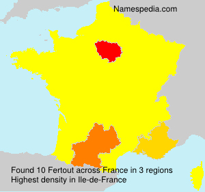 Surname Fertout in France