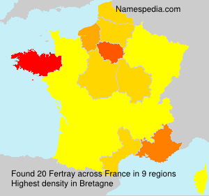 Surname Fertray in France