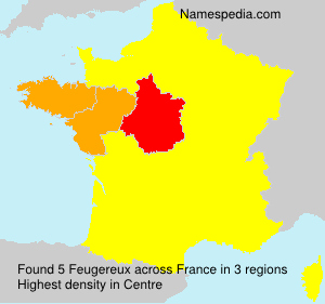Surname Feugereux in France