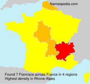 Surname Fiannaca in France