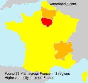 Surname Fiari in France