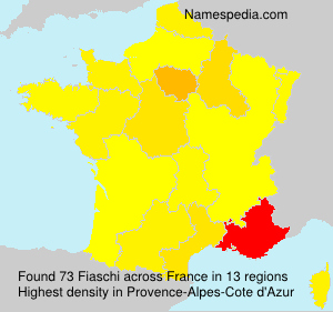 Surname Fiaschi in France