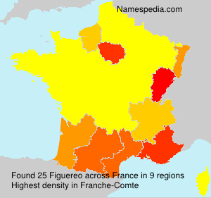 Surname Figuereo in France
