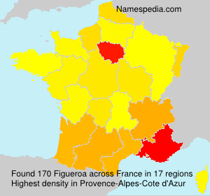 Surname Figueroa in France