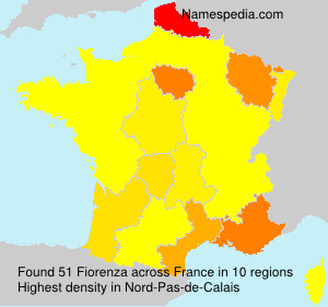 Surname Fiorenza in France