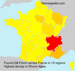 Surname Fiorini in France