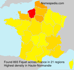 Surname Fiquet in France