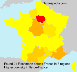Surname Fischmann in France
