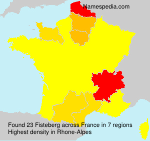 Surname Fisteberg in France