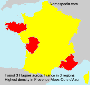 Surname Flaquer in France