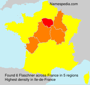 Familiennamen Flaschner - France