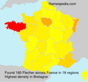 Surname Flecher in France