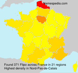 Surname Flipo in France