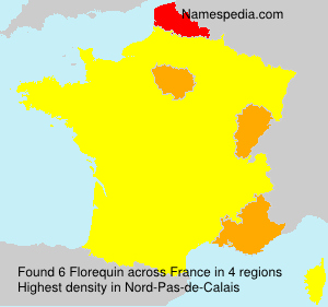 Surname Florequin in France