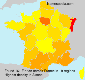 Surname Florian in France