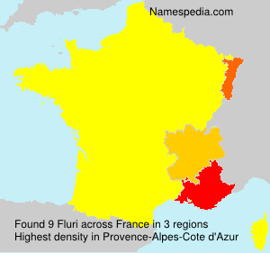 Surname Fluri in France