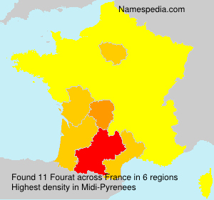 Surname Fourat in France