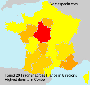 Surname Fragner in France